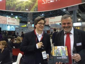 Die Autorin Chandra Kurt & Thierry Walz (Einer der Rezeptgeber)